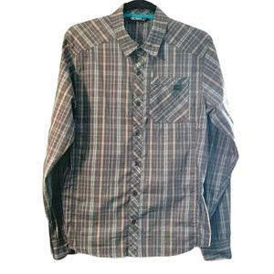 Arc'teryx Plaid Checkered Long Sleeved Shirt